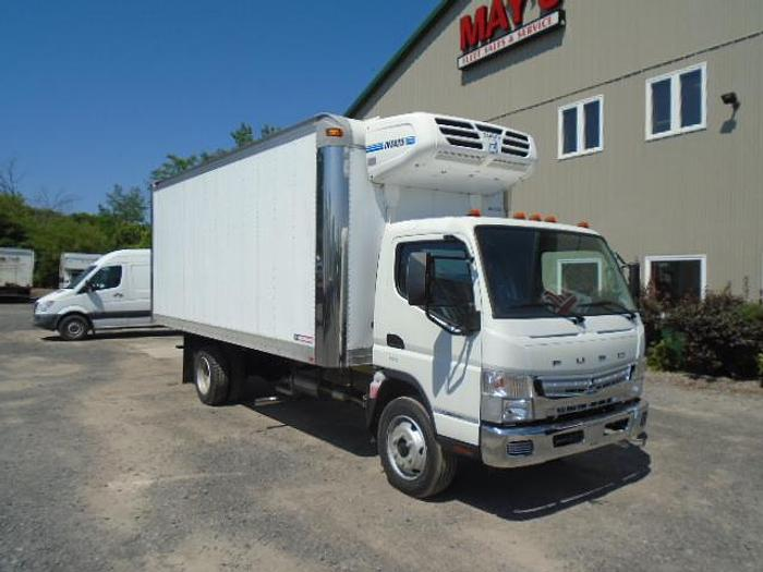2020 Mitsubishi Fuso FE180G Refrigerated Truck