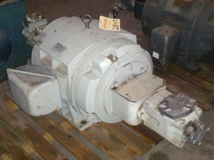 Used 60 HP Vickers Double End Hydraulic Pump; 85 gpm; 2,500 psi