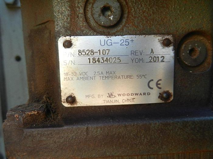 Yanmar 8EY26LW generator in very good condition.