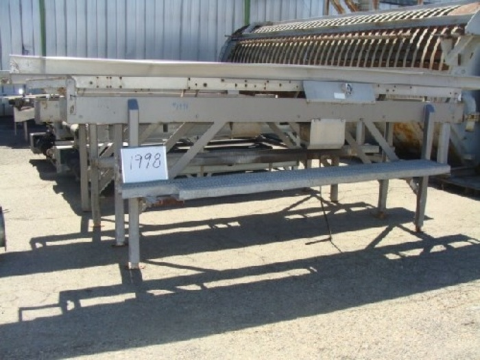 Allen 18'' Wide x 15' Long Vibratory Shaker/Conveyor #1998