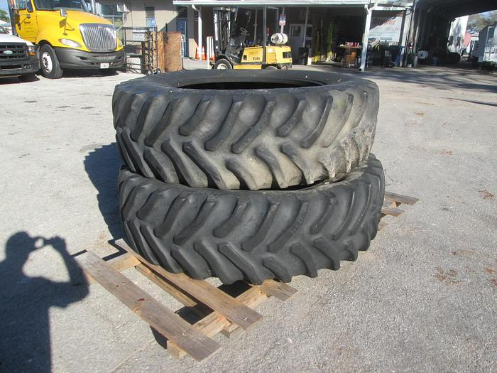 Used 20.8R-42 Goodyear Tractor Tires