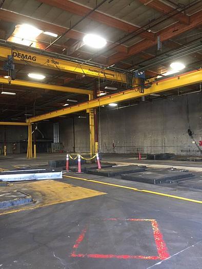 Demag Facilities Engineering Bridge crane 50x100x25 tall