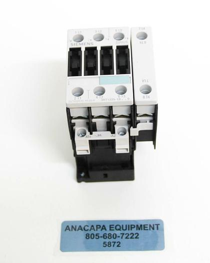 Siemens Sirius 3RT1325-1B Motor Contactor 24V DC Coil 3RT1926-1ER00 NEW (5872)