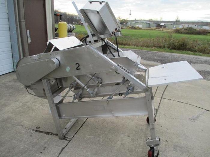 Used Magnuson Shufflo Slicer/Strip Cutter; Md#23CH16U-45