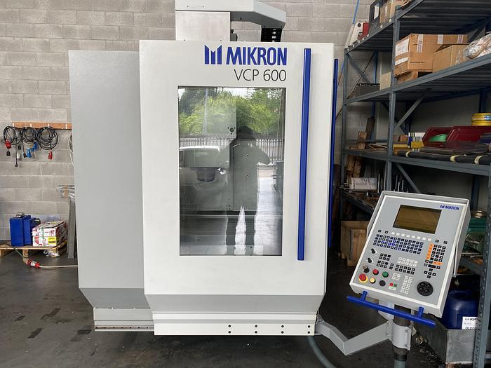Usata MIKRON VCP 600