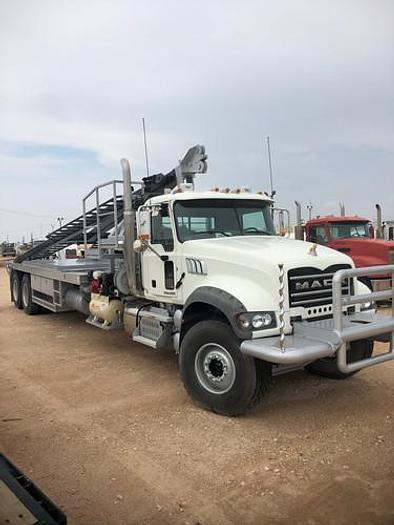 2015 Mack GU713 Winch Truck