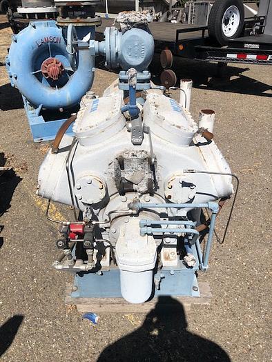 Vilter 8-Cylinder Ammonia Compressor