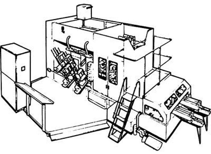 Maszyna pakująca TETRA PAK - system TETRA REX Typ RC4