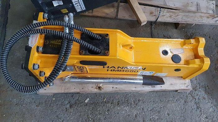 Gebraucht Hanmer HMB 680 Hydraulikhammer