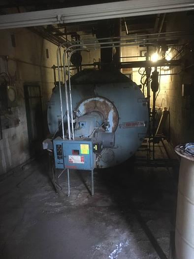 Used 1974 York Shipley 250 hp boiler JB5