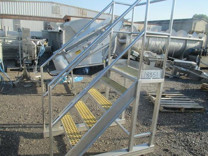 Used Stainless Steel Work Stand