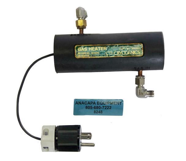 Used CTI-Cryogenics 8044051 Cryopump Purge Gas Heater  (8248)W