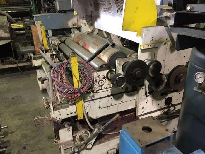 "Used 54"" IN LINE PRESS 2 COLOR"