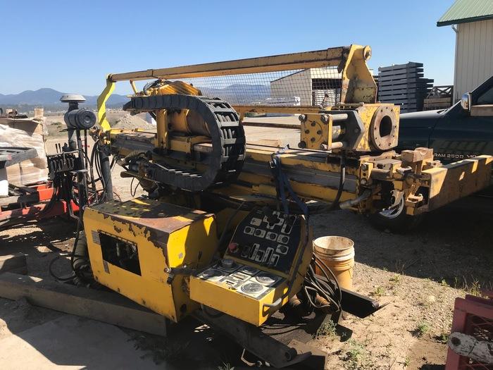 HB18314 Atlas Copco U6 heavy duty core drill on skid
