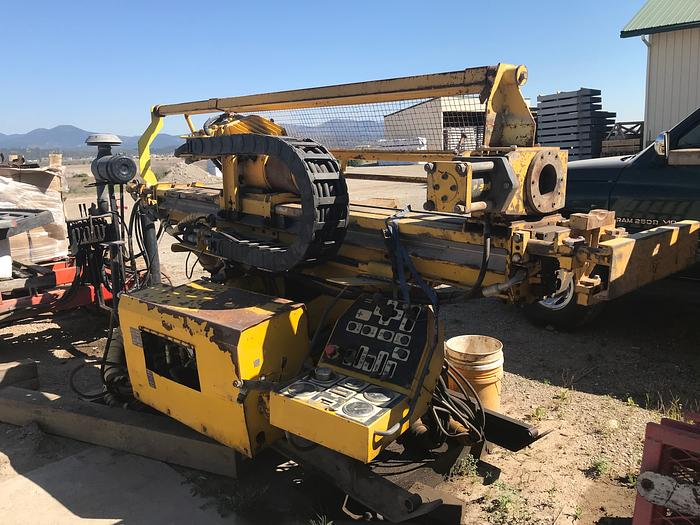 HB18314 Atlas Copco U6 heavy duty core drill on skid