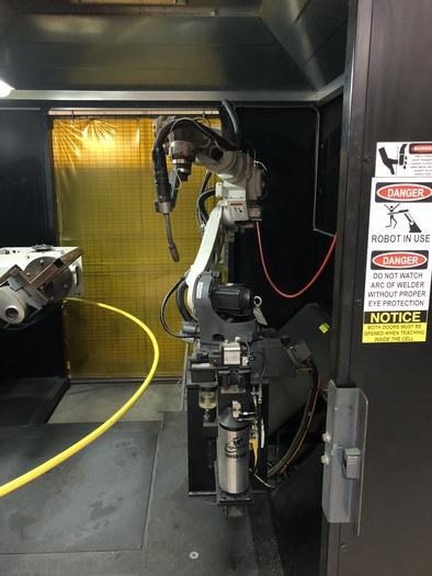 2016 MILLER PERFORMARC  PA550HW ROBOTIC WELDING CELL