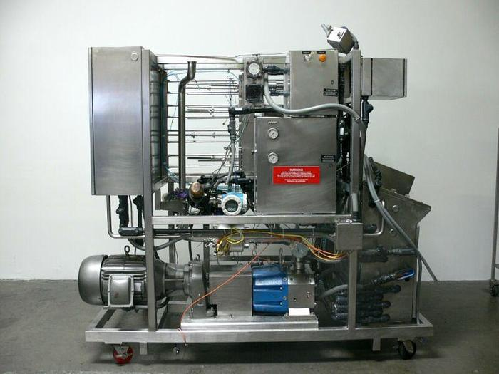 Used Millipore Ultrafiltration System w/ Wrighflow S4S Pump & Millipore Cassettes