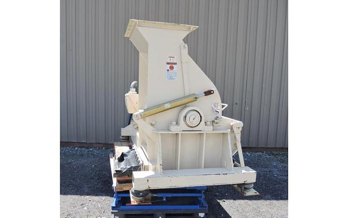 USED SCHUTTE HAMMER MILL, FIXED HAMMERS, CARBON STEEL, 125 HP
