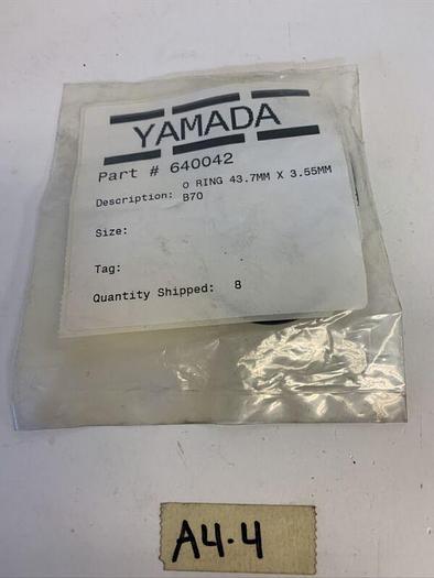 YAMADA 640042 O Ring 43.7MM X3.55MM B70 8qty. Fast Shipping!