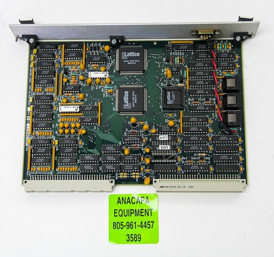 Used IVS Schlumberger 0001-00107 REV. B Control Logic PCB from IVS 220 CD SEM (3589)