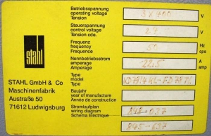 1996 Stahl KD78/4 KL TopLine FD 78