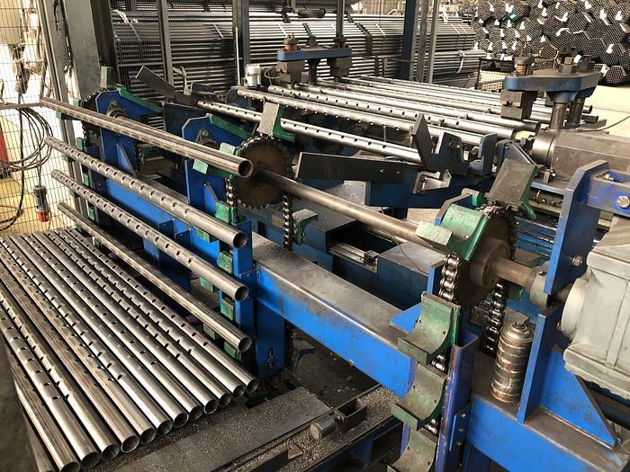 SAGE buis productie lijn
