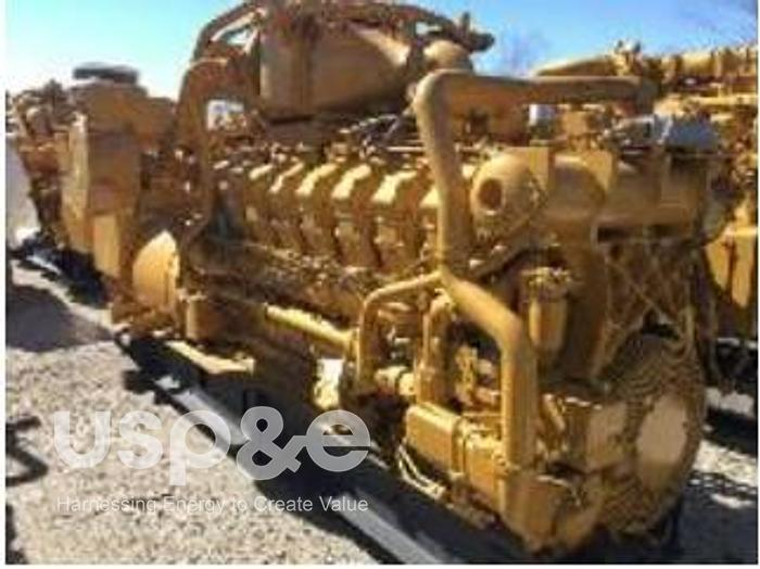 Used 1.3 MW 2007 Used Caterpillar G3516 Natural Gas Generator Sets