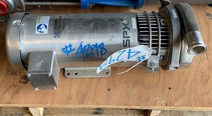 "Used Waukesha / Cherry - Burrell Stainless Steel SPX 2"" x 1 1/2"" Centrifugal Pump"