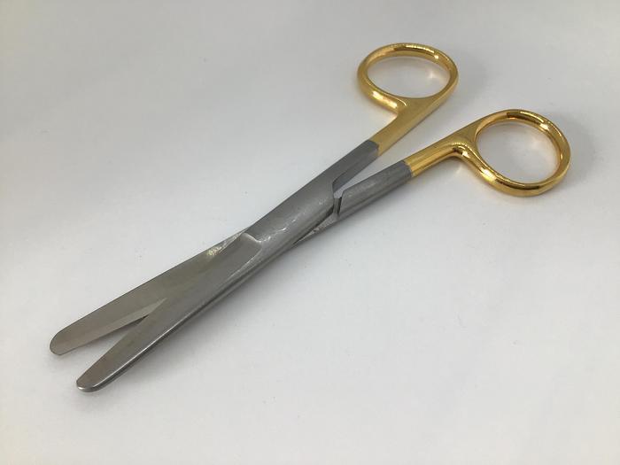 Scissor Surgical Tungsten Carbide Blunt/Blunt Points Straight 125mm (5in)