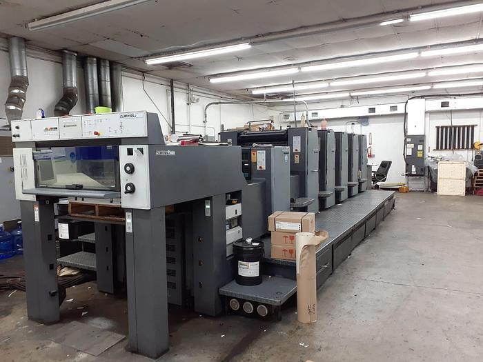 Used 2005 Heidelberg SM74-5+L UV Press