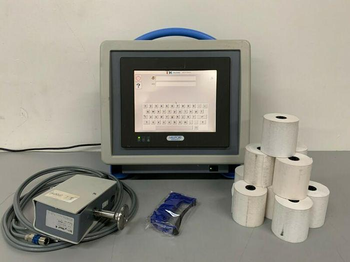 Used Millipore XIT4N0001 Integitest 4N Automatic Filter Integrity Test Instrument