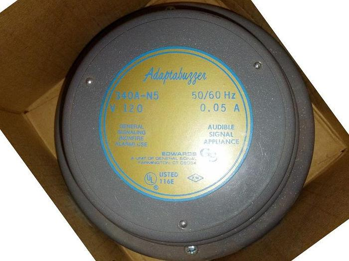 Used New Edwards Model 340A-N5 Signaling/Vibrating Buzzer