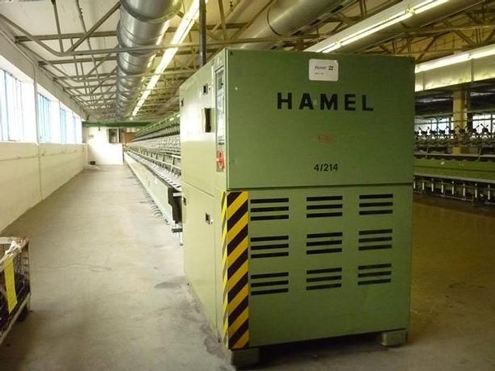 Gebraucht Doppeldrahtzwirnmaschine für Glasfasern HAMEL HG6  4/214.50- 150.0
