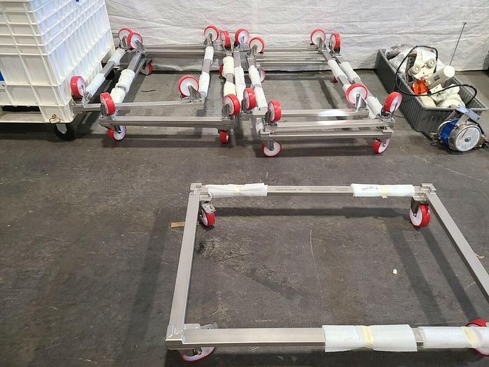 Used Sartorius Sedim STD Palletank DOLLY 500 L Biotech FXA 116631 Stainless Steel