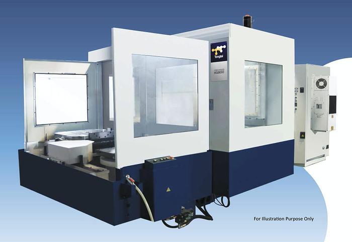 Used Used Tongtai HG-800 Horizontal Machine Center