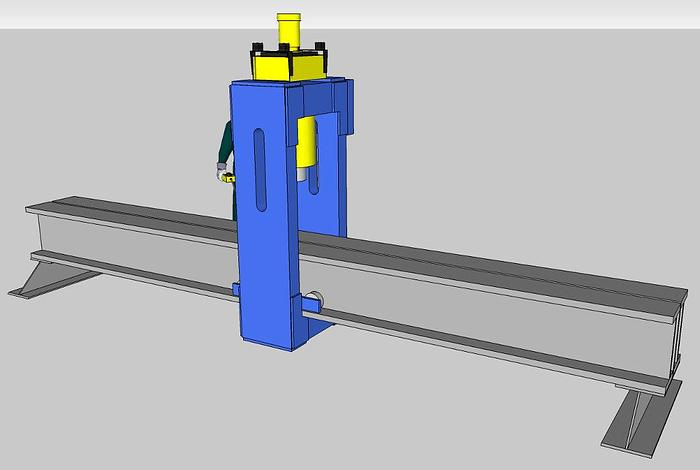 300 Ton Rutil Hydraulic Straightening Press
