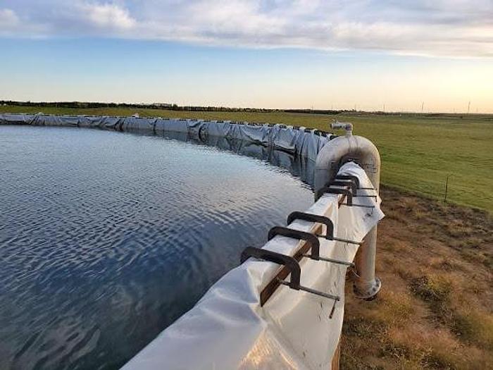 Used 9000 – 42000 BBL Frac Ponds Ranging in Price