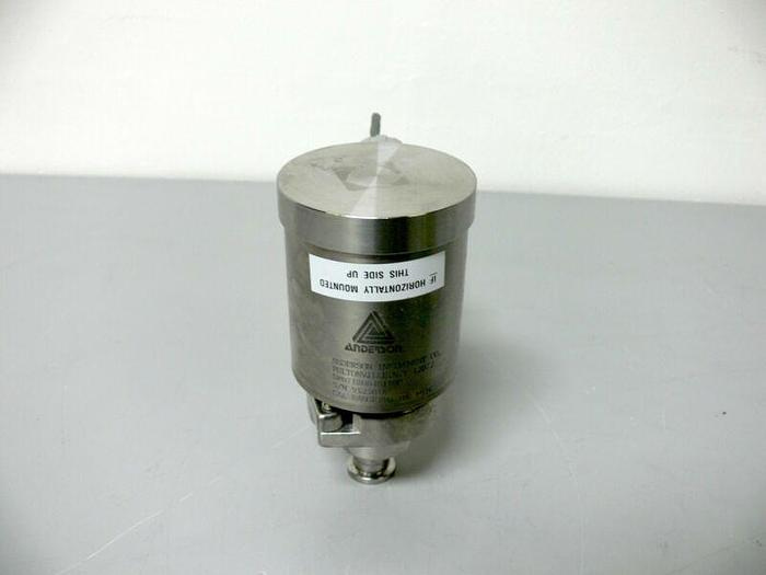 "Used Anderson Instruments SR071G00401100 0-100 PSIG Pressure Transmitter w/ 1"" Adapt"