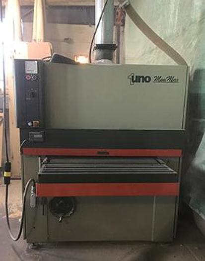 "Refurbished SCMI Uno ""Mini-Max"" Wide Belt Sander"