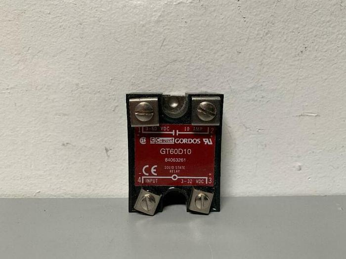 Used Crouzet Solid State Relay GT60D10 3-60 VDC & 10 AMP