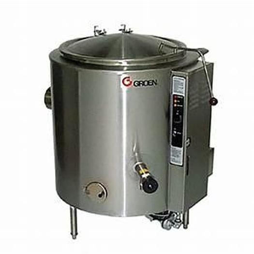 GROEN #AH/1E-60 SELF CONTAINED 60 GAL. STEAM KETTLE BRAND NEW w/ ORIGINAL FACTORY WARRANTY !