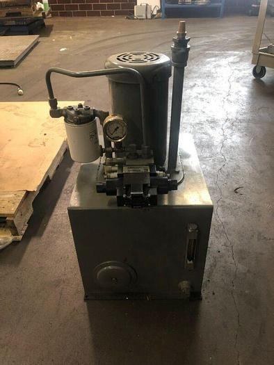 Used Continental Hydraulic Unit 3hp 208-230/460V 3ph