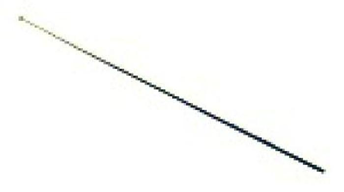 STORZ Knife Electrode Oval Straight Working Length 230mm 8595 A