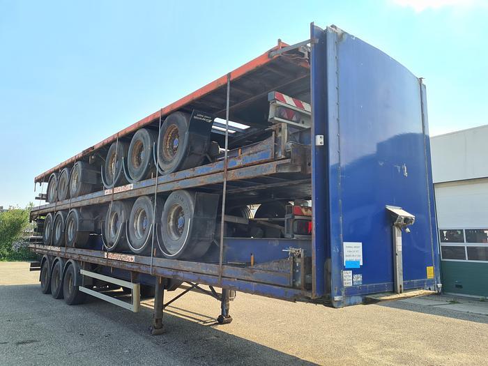 Used 2007 Montracon 3 axle / air suspension / ROR