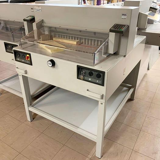 Used Pre-used IDEAL 6550-95EP 9-Program Guillotine 2003