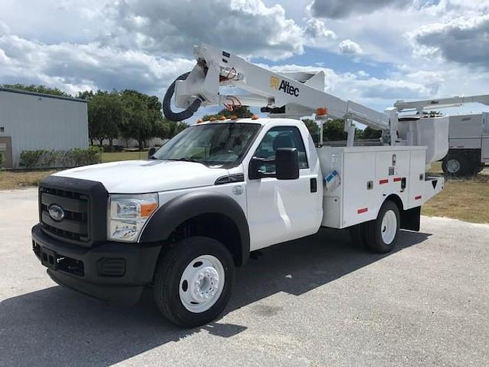 Used 2016 Ford F550 Altec AT37G 42ft Bucket Truck - C57046