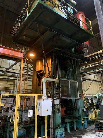 Used 1500 ton Verson Single Point Stamping Press