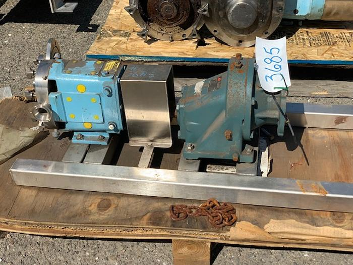 Waukesha Model 015 Positive Displacement Pump