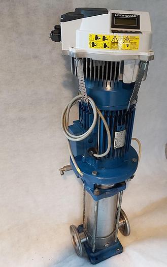 Gebraucht Druckerhöhungspumpe + Frequenzumformer, SV1607F75T - HLV4.075-A0010, Lowara,  gebraucht
