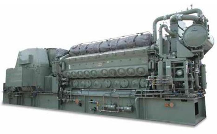 Used 3.95 MW 2009 Used EMD L20-710-G7C-T2 Diesel Generators